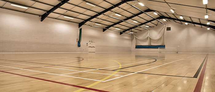 Sports Hall - Barons Fitness Gym - Scarborough