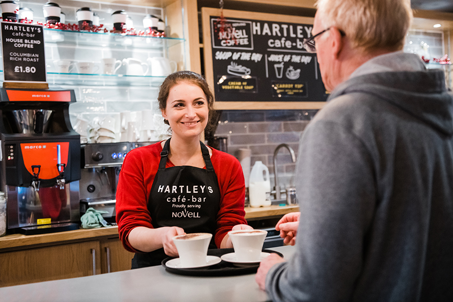 Hartleys coffee- Barons Fitness Gym - Scarborough