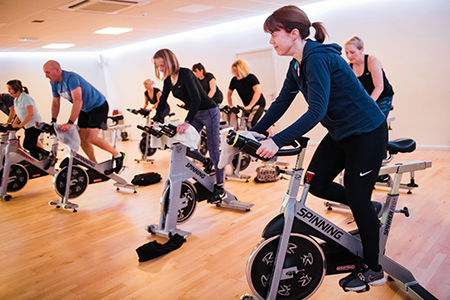 Spinning - Barons Fitness Gym - Scarborough