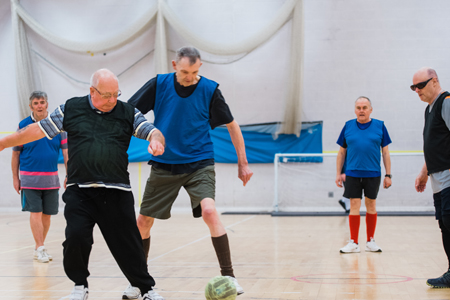 Walking Football - Barons Fitness Gym - Scarborough